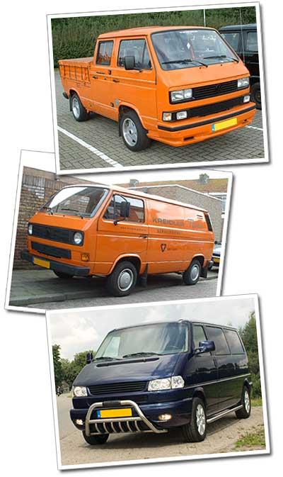 Mijn drie VW Busjes