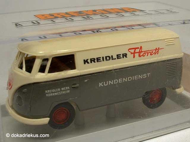 Brekina VW T1 miniatuur busje
