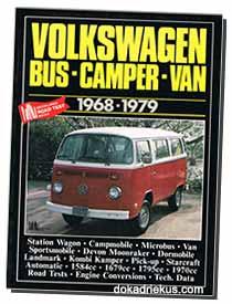 Volkswagen bus-camper-van 1968-1979