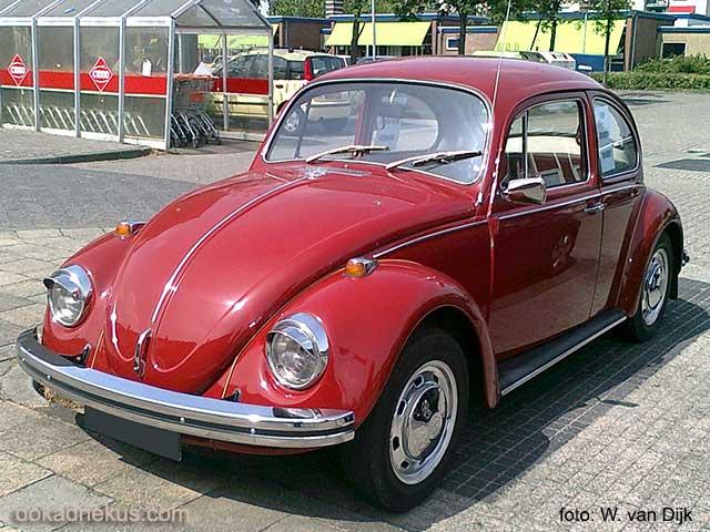Linkerzijde opa's oude VW kever