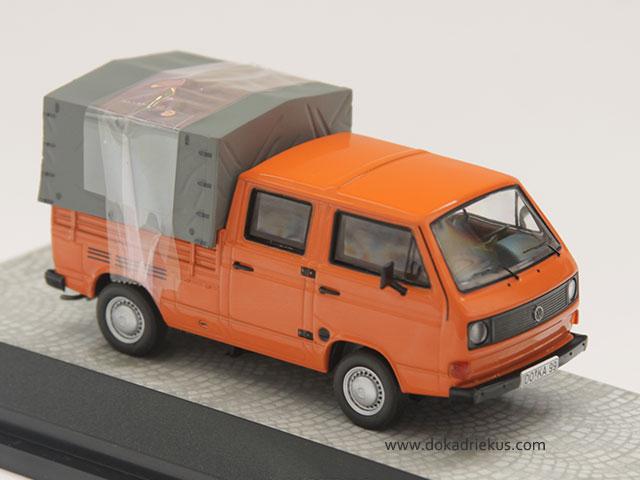 Premium Classixxs oranje VW T3 doka 1/43.