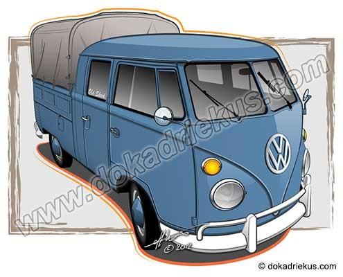 VW T1 doka met huif