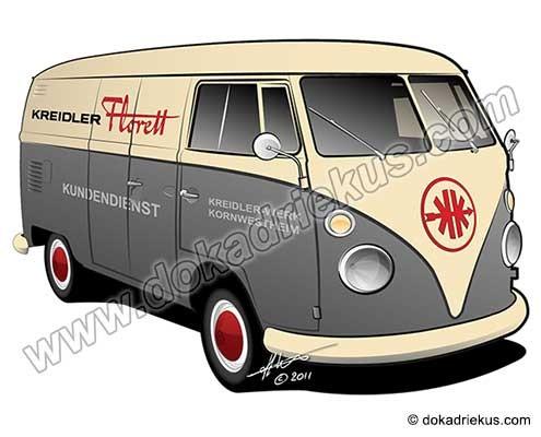 VW T1 bestelbus