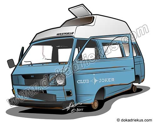 VW T3 Westfalia sloper