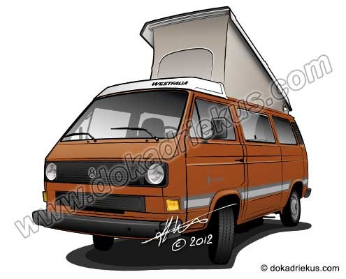 VW T3 Westfalia camper