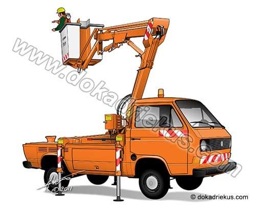 VW T3 hoogwerker