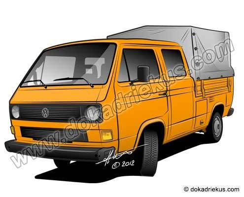 VW T3 doka met huif