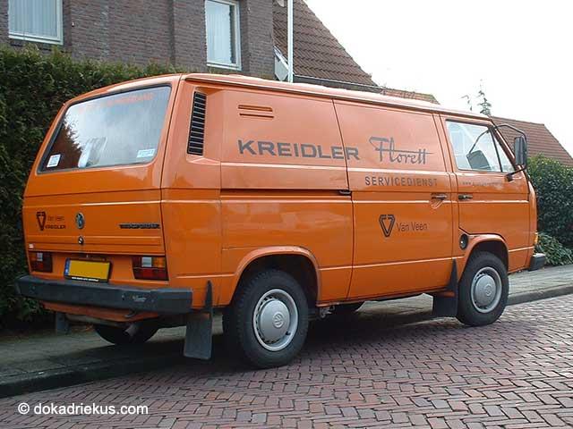 T3 met Kreidler reclame