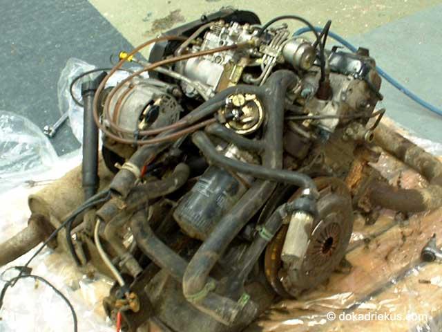 De T3 turbodiesel ruilmotor
