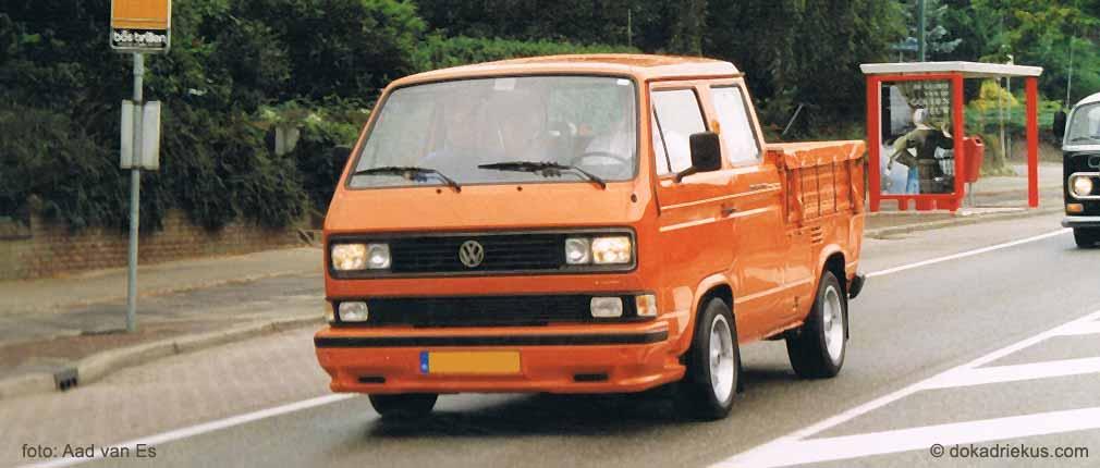 VW T3 doka tijdens rondrit Utrechtse Heuvelrug meeting