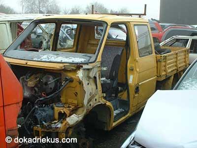 VW T4 doka op autosloperij