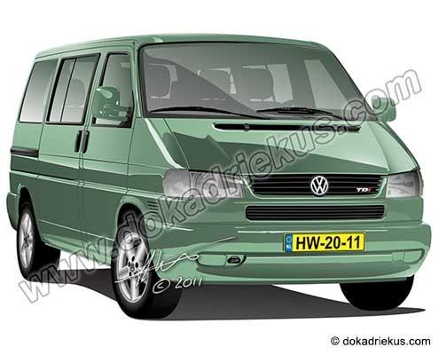 VW T4 Caravelle