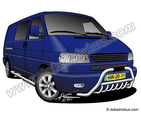 VW T4 bestelbus