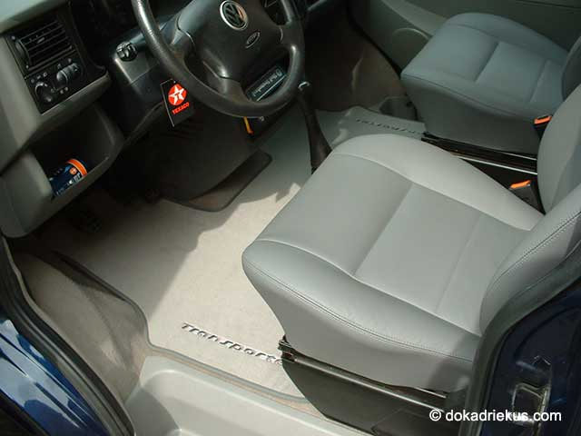 Vloerbedekking in de VW T4