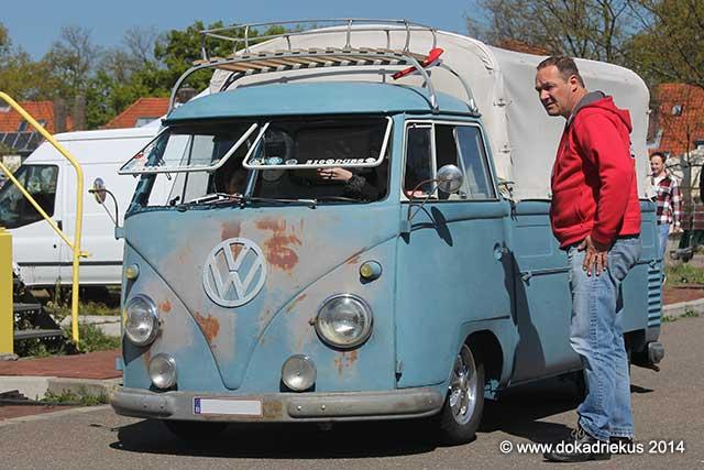 VW T1 enkelcabine pick-up met huif
